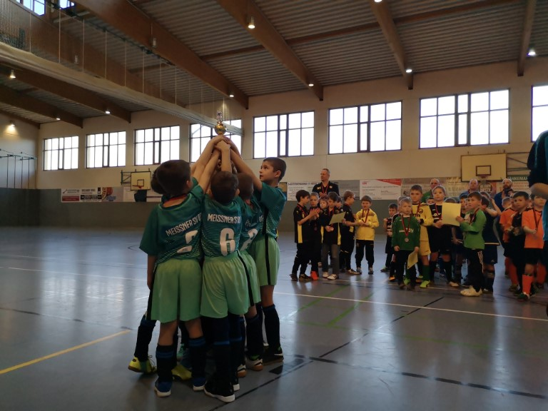 1.Platz-F-Junioren U8 in Pristewitz